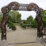 Das Tor 400 x 450 cm, Eisenkupfer