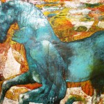 Einklang 100x 130 cm, Öl auf Leinwand Kopie