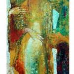Harem 130 x 60 cm, Öl auf Leinwand Kopie