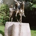 St.Martin Denkmal Saarland 250 x 180 cm , Bronze-2